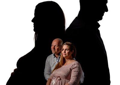 minőségi családi porté fotózás