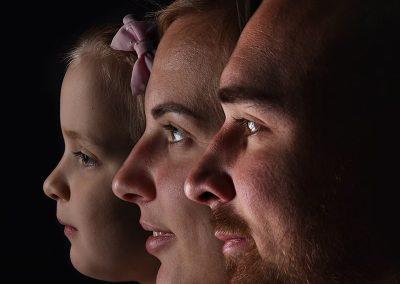 kreatív családi fényképek
