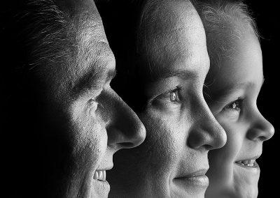 családi portré magas minőségben